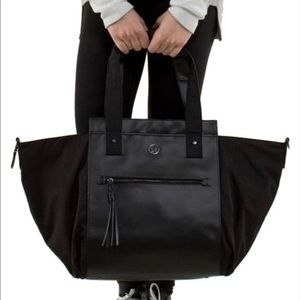 Lululemon Carry Me Om Black Tote Duffle Bag